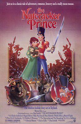 The Nutcracker Prince Original Movie Poster 27x40 Animation Cartoon 2