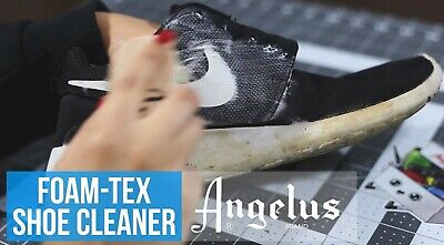 Foam-Tex fOaMiNg Cleaner KiT suede leather sneakers shoes boots foamtex ANGELUS 8