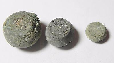 Zurqieh -Aa1977- 3 Ummayyad Bronze Weights (Waznah),  7- 8Th Cent. A.d 2 • CAD $156.78