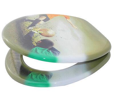 klobrille toilettensitz toilettenbrille wc brille klositz bad klo fussball goal eur 29 95. Black Bedroom Furniture Sets. Home Design Ideas