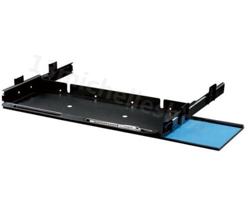 Underdesk Keyboard Drawer Mouse Tray with Slider Runner Kit Home Office Steel