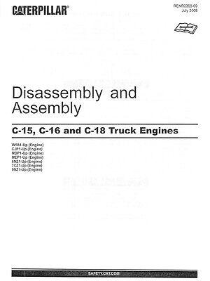 BEST CATERPILLAR C11 C13 C15 C16 C18 CAT ACERT Engine Service Repair Manual CD