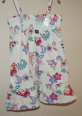 GAP summer dress with butterflys for a girl 2 years  Gr. 84-91 cm BNWT 4