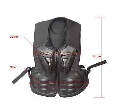 Child Kid Peewee Motorbiker Motorcycle Vest Body Armor Armour Motocross Xxs Size
