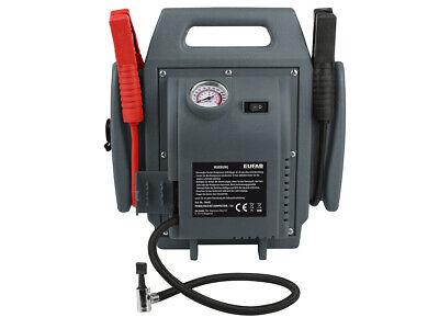 Eufab Power-Pack 300A / 600A Starthilfe Energiestation 18 bar Kompressor 16643 7