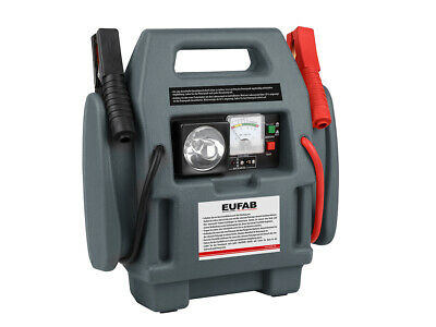 Eufab Power-Pack 300A / 600A Starthilfe Energiestation 18 bar Kompressor 16643 2