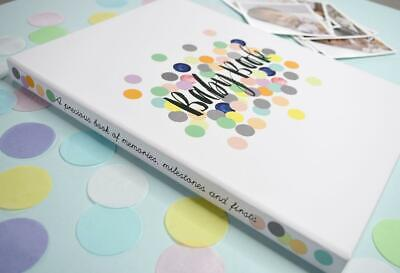 NEW Rhicreative Special Edition Baby Book Gift Keepsake Photo Memories & Firsts 2