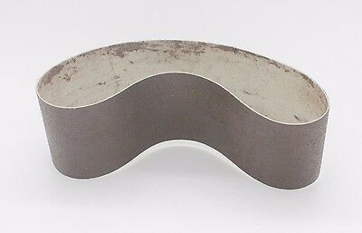 "8""x3"" 600Grit Diamond Resin Soft Abrasive Lapidary Glass Stone Sanding Belt 2"