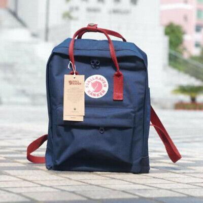 Waterproof Backpack Fjallraven Kanken 7L/16L/20L  Travel Rucksack Sport Handbag 12