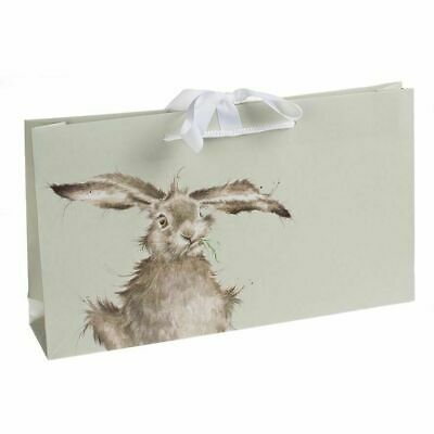 Wrendale Designs Leaping Hare Design Scarf with Gift Bag - Gift Idea for Women 2