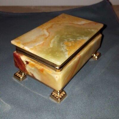 marbre onyx boite a bijoux