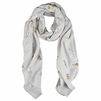 Wrendale Designs Dog's Life Design Scarf - Decorative Gift Ideas for Women 5
