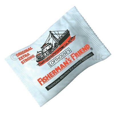 24 Fisherman's Friend Originale Super Resistente Pastiglie 25g 2
