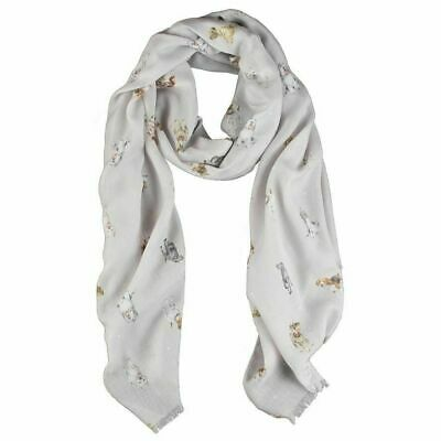 Wrendale Designs Dog's Life Design Scarf - Decorative Gift Ideas for Women 3