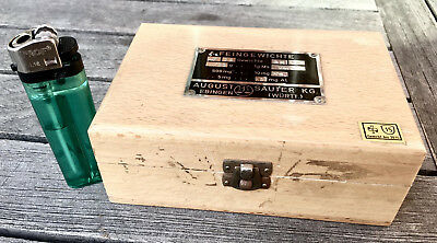 APOTHEKER - Schicker Gewichtesatz / Feingewichte im Holzkasten - Sauter