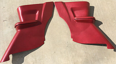 MOPAR Dodge Plymouth 1964 65 B Body Convertible Rear Arm Rest Pads NEW Black 5