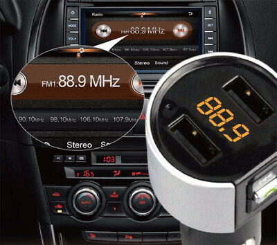 Bluetooth FM Transmitter Auto MP3 Player USB Stick KFZ SD AUX Freisprechanlage 12