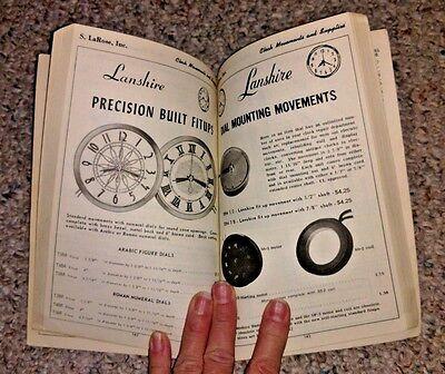 Vintage Book 1975 KEEP BOOK S LaROSE CLOCK MOVEMENTS & SUPPLIES Greensboro NC 3