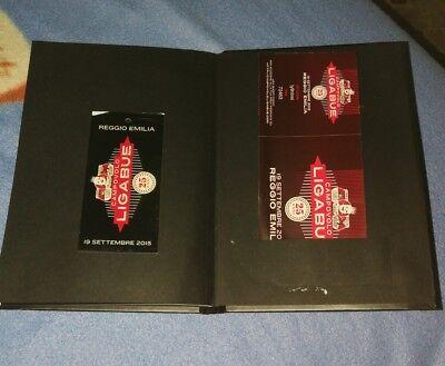 Ligabue Libretto ufficiale Campovolo 19/9/15 +biglietto+braccialetto+fazzoletto 3