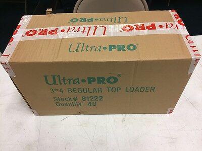 1000 Ultra Pro Regular 3x4 Toploaders sealed case Brand New top loaders 3