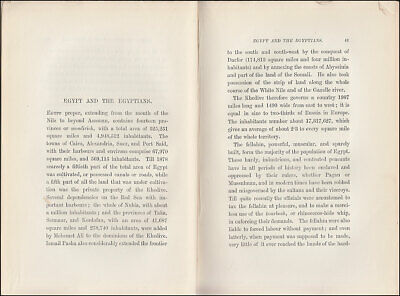 Vogt THE EGYPTIAN WAR OF 1882, Egypt BOMBARDMENT of ALEXANDRIA Suez BRITISH ARMY 7