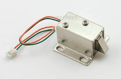 ELECTRONIC LATCH LOCK Catch Door 12V Electro-magnet Release Solenoid Slant  Slug