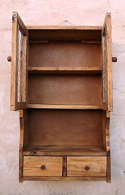 mueble especiero o alacena de madera vintage ,,malla gallinero 2