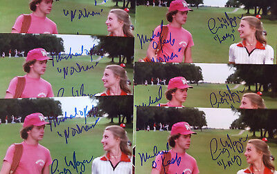 MICHAEL O'KEEFE & CINDY MORGAN signed CADDYSHACK 8x10 PHOTO