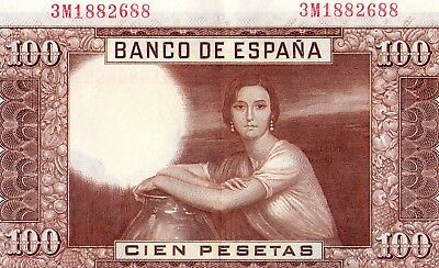100 Pesetas Romero De Torrres 7 Abril 1953 Ebc 2