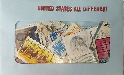 30 Used US Postage Stamps 40-100 YRS OLD *All Different*  Book Value $5.00! 4
