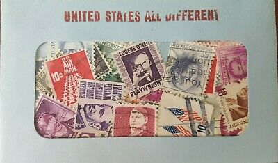 30 Used US Postage Stamps 40-100 YRS OLD *All Different*  Book Value $5.00! 6