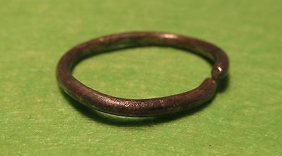 Scythian-Sarmatia Silver Old Ring - Temporal 7-3 th Century BC 1.3 grams