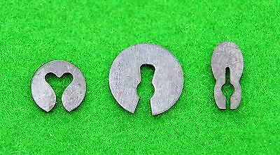 Antique clock split washers (assorted pack of 100) Great Quality 5