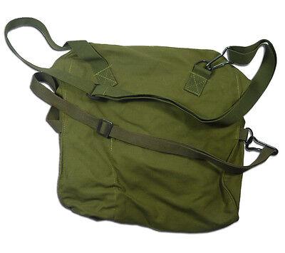 Finnish Gas Mask Bag Tan Brown 5col Finland Military Surplus Shoulder Satchel 2