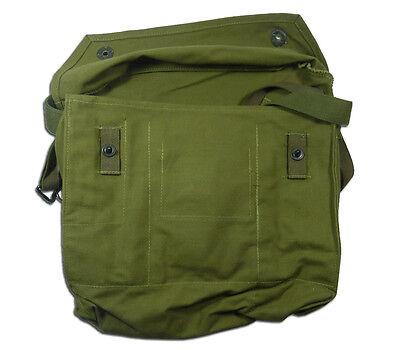 Finnish Gas Mask Bag Tan Brown 5col Finland Military Surplus Shoulder Satchel 5