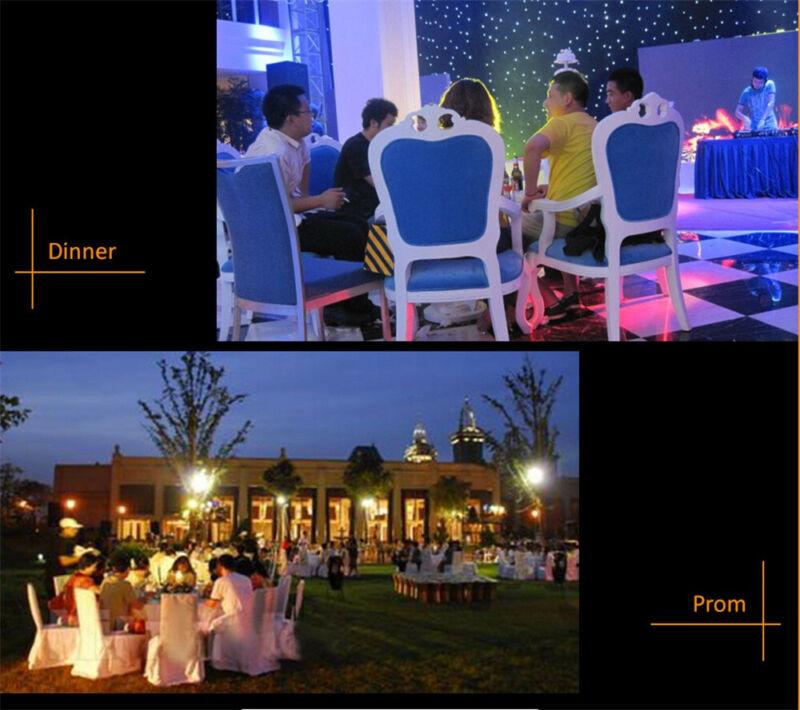 3USB Mini LED RGB Disco Stage Light Party Club DJ KTV Xmas Magic Phone Ball Lamp 8