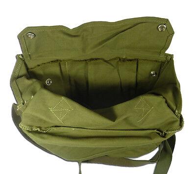 Finnish Gas Mask Bag Tan Brown 5col Finland Military Surplus Shoulder Satchel 4