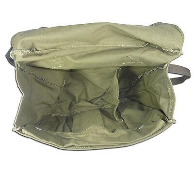 Finnish Gas Mask Bag Tan Brown 5col Finland Military Surplus Shoulder Satchel 3