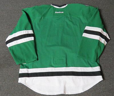 1 of 4FREE Shipping New Dallas Stars Authentic Team Issued Reebok Edge 2.0  Hockey Jersey NHL Green bfe6fbd3b
