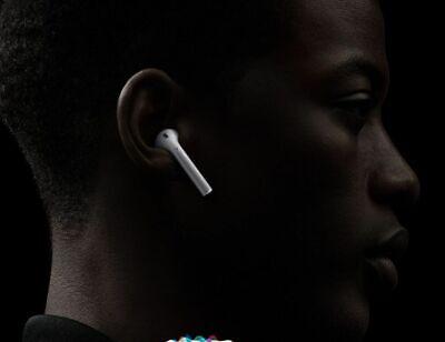 Apple AirPods 1. Generation In-Ohr-Kopfhörer Bluetooth MMEF2ZM/A Wie Neu OVP 6