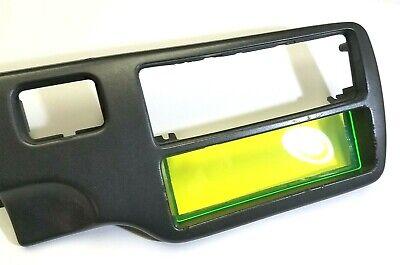 ABS Single DIN Radio Stereo Console Block Off Plate Delete for Honda EG