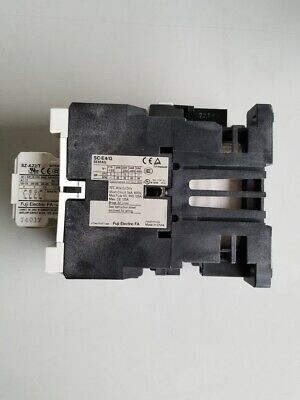 FUJI ELECTRIC CONTACTOR SC-E4/G with SZ-A22/T and SZ-Z36 Modules Attachments 3