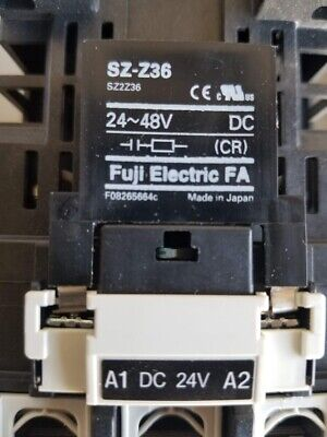 FUJI ELECTRIC CONTACTOR SC-E4/G with SZ-A22/T and SZ-Z36 Modules Attachments 6