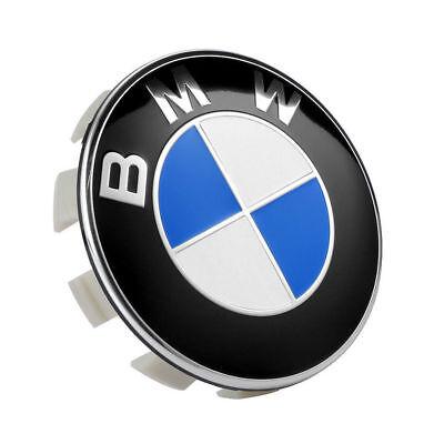 4Pcs Genuine BMW Emblem Logo Badge Hub Wheel Rim Center Cap 68mm Set of 4 Cover 4