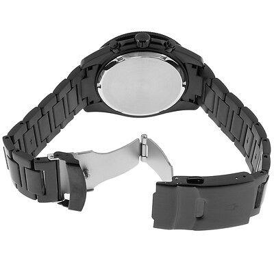 Bulova Marine Star Men's 98B231 Quartz Chronograph Black Bracelet 34mm Watch 4