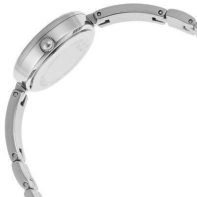 Bulova Women's 98X107 Quartz Crystal Accents Silver-Tone 25mm Watch 3