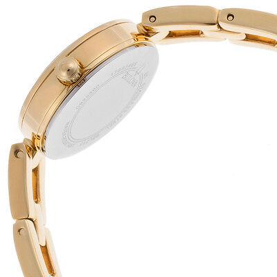 Bulova Women's 98L213 Swarvoski Crystal Accents Quartz Gold Tone 23mm Watch 4