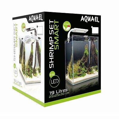 AQUAEL Aquarium SHRIMP SET Nano komplett inkl. LED Beleuchtung, Filter, Heizer 3