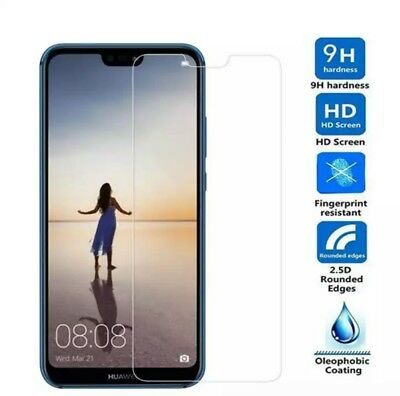 Various Huawei Thin 0.26mm 2.5D 9H Tempered Glass Screen Protector + Retail Pack 2