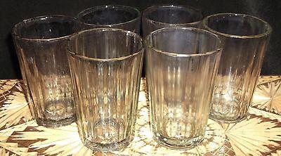 SOVIET USSR FACETED NEW TEA GLASS 6 pc. GRANENNIY STAKAN & VODKA 200 grams 3
